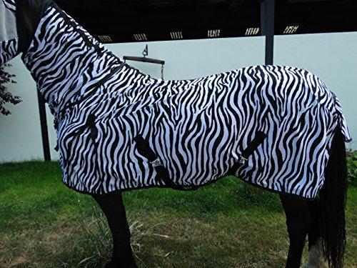 Wild Thing Zebra Fliegendecke Combi Mit Halsteil (125)