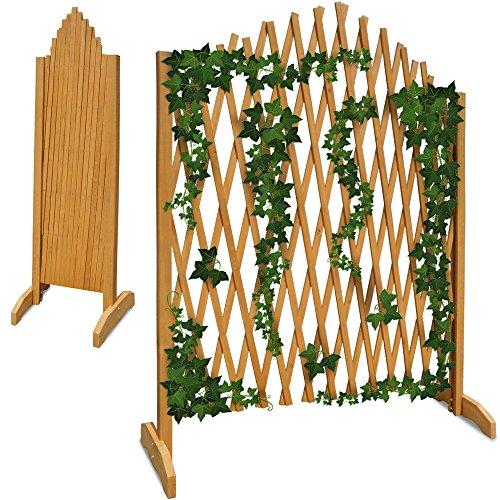 Gartenzaun Rankhilfe Rankgitter Holzzaun Pflanzengitter ✔ zusammenfaltbar ✔ variabel verstellbar ✔ 180 cm