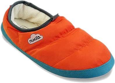 Nuvola Pantofole da uomo, con fodera in pile, antiscivolo, suola in gomma impermeabile, leggere, calde, classiche, taglia M