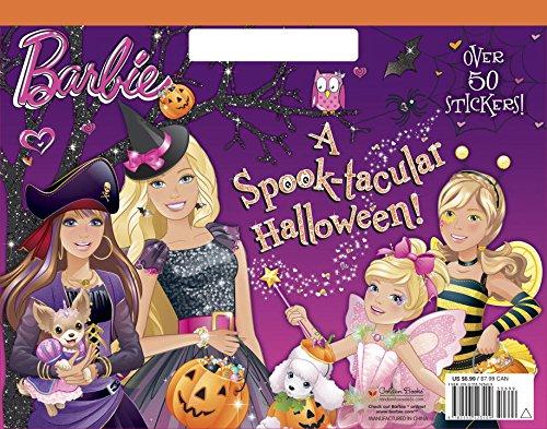 A Spook-tacular Halloween! (Barbie) (Big Coloring (Pictures Coloring Kinder Halloween)