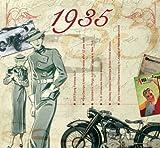 1935 Geburtstag Geschenken - 1935 Chart Hits CD und 1935 Geburtstagskarte