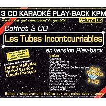 Coffret 3 CD Karaoké Play-Back KPM ''Les Tubes Incontournables''