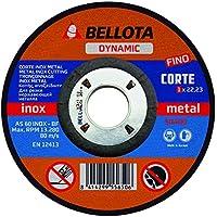 Bellota Dynamic - Disco abrasivo, corte inox-metal fino (115 mm)