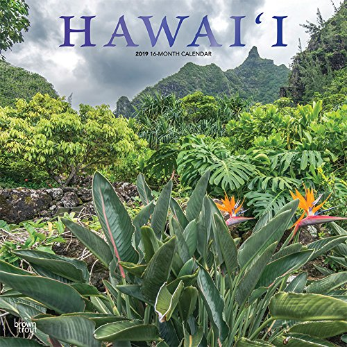 Hawaii 2019 - 18-Monatskalender mit freier TravelDays-App: Original BrownTrout-Kalender por Inc Browntrout Publishers
