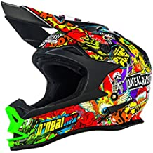 e1407f536f381 0583C-404 - Oneal 7 Series EVO Crank Motocross Helmet L Black Multi