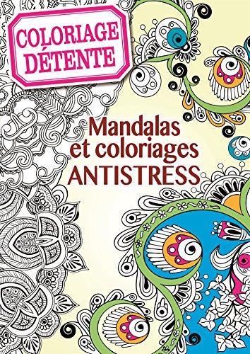Coloriage antistress et créatif, mandala