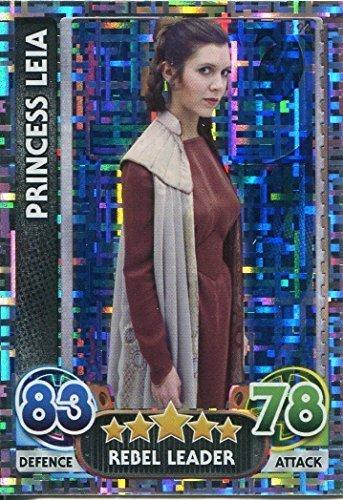 STAR WARS FORCE ATTAX : Force Awakens set 1 #194 Princesa Leia
