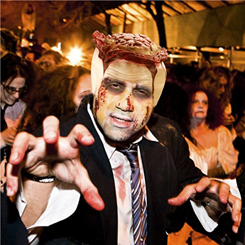 PBPBOX Halloween Zombie Gehirn inkl. Kunstblut 30g Halloween Party Zombie (Make Up Beängstigend)