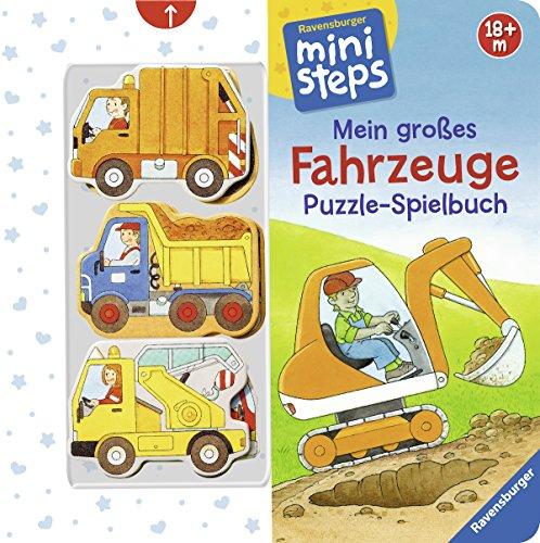 Preisvergleich Produktbild Mein großes Fahrzeuge Puzzle-Spielbuch: Ab 18 Monaten (ministeps Bücher)