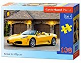 Castorland B-010035 - Ferrari F430 Spider, 108-teilig, Klassische Puzzle