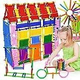 NUOLUX Les blocs de construction bricolage bâtons 3D Puzzle jouet éducatif Set, 500 pièces