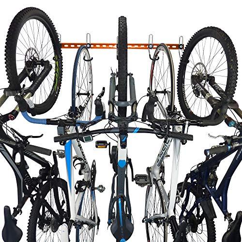 GearHooks Fahrrad-Aufbewahrung, modulares Fahrrad-Wandhalterungssystem, robust und hergestellt in Großbritannien, für die Verwendung mit Allen Fahrrädern, einschließlich Mountainbikes und Rennrädern