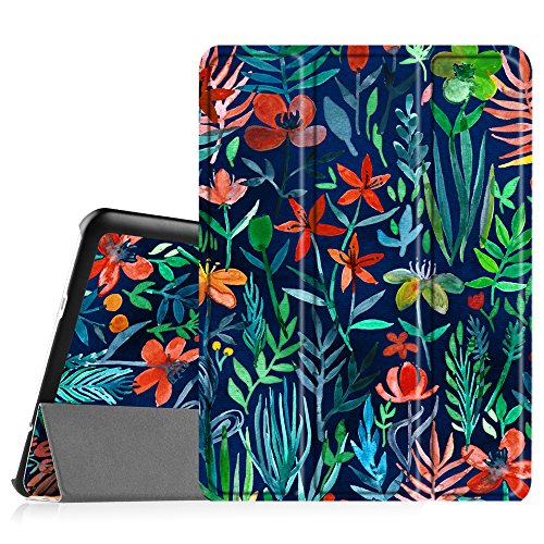 "cover tablet samsung s2 9.7 Fintie Samsung Galaxy Tab S2 9.7 Custodia - Ultra Sottile Di Peso Leggero Tri-Fold Smart Case Cover Sleeve Con Funzione Sleep/Wake per Samsung Galaxy Tab S2 9.7"" SM-T810N / SM-T815N Table"