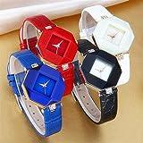 Womens Rhinestone Quartz Watches,Ulanda-EU Fashion Analog Clearance Lady Wrist Watch Female watches on Sale Watches for Women,Round Dial Case Comfortable PU Leather Wristwatch m94