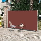 Sonnensegel für Garten oder Terrasse 180x 300cm braun