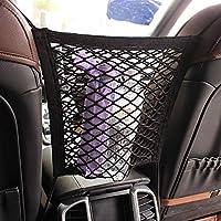 Gu3Je Pu Leather Car Back Storage Bag, Car Storage Hanging Bag,