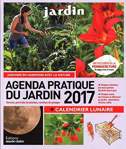 Agenda du jardin 2017