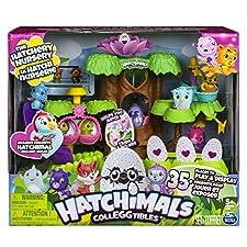 HATCHIMALS 6037073 Hatchery Nursery Playset, Mixed Colours