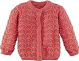 Produkt-Bild: lupilu® Baby Mädchen Strickjacke aus 100% Bio-Baumwolle (Koralle, Gr. 50/56)
