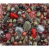 Tribal Red Jewellery Making Starter Beads Mix Set