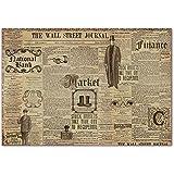 Paper Moon - Decoupage - Carta di riso 48cm x 33cm - The wall Street Journal
