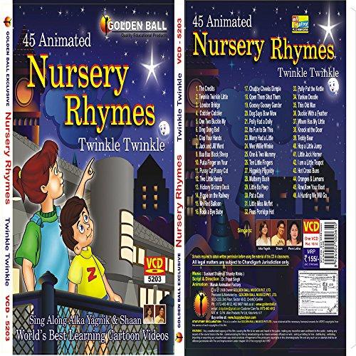 Nursery Rhymes Twinkle Twinkle Animated