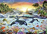 Ravensburger 12804 - Orca Paradies Puzzle