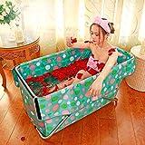 Sweet Bathtub Faltende Badewanne frei aufblasbare Badewanne Barrel Erwachsenen Badewanne Infant Schwimmbad Isolierung (größe : S 108*54 cm)