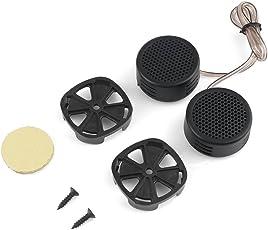 Kebidu Universal High Efficiency 2X Car Mini Dome Tweeter Loudspeaker Loud Speaker Super Power Audio Auto Sound.