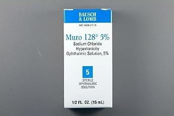 Muro 128 - Lubricant Eye Drops - 15 mL - Drop