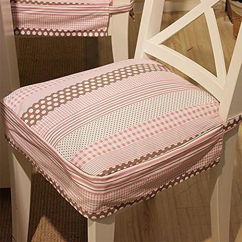 Simple tela tapicería moderna/ anti-movimiento amortiguadores/ amortiguadores rosa dulce encantadoras-A 41.5x45cm(16x18inch)