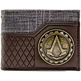 Ubisoft AC Syndicate Gold Crest Braun Portemonnaie Geldbörse