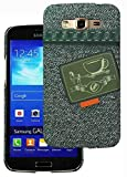 Heartly Jeans Style Printed Design High Quality Hard Bumper Back Case Cover For Samsung Galaxy Grand 2 G7102 G7106 - Tea Pocket