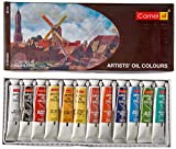 #6: Camlin Kokuyo Artist's Oil Color Box - 20ml tubes, 12 Shades
