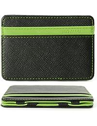 XCSOURCE Portefeuille magique Porte monnaie Porte-cartes de crédit Bourse Magic Wallet Billfold Vert MT179