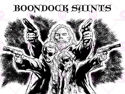 movie-film-illustration-boondock-saints-murphy-guns-cult-classic-18x24-affiche-poster-art-print-lv10