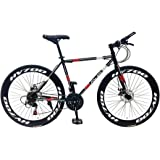 MCLS Unisex Adult RBY50 Road Bike - Grey/Red, 26 inch