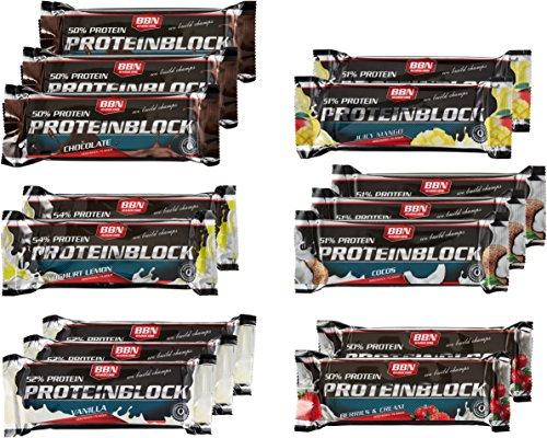 BBN Hardcore Proteinriegel BBN Hardcore Mix Box im Test