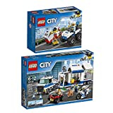 Lego CITY 2er Set 60135 60139 Gangsterjagd auf Quad + Mobile Einsatzzentrale