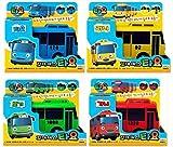 [4 Cars] Tayo The Little Bus - TAYO + ROGI + RANI + GANI : Korean TV...
