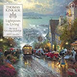 Official Thomas Kinkade Lightposts for Living 2018 Wall Calendar