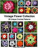 Vintage Flower Collection - 20 Unique Crochet Patterns (English Edition)