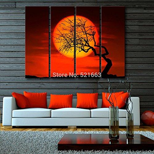 olgemalde-schatten-der-baume-dekoration-malerei-wohnkultur-auf-leinwand-moderne-wand-kunst-leinwand-