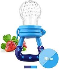 Fruchtsauger, Tinabless Silikon Schätzchen Schnuller für Obst und Gemüse für Babys 6-12 monate, Bpa Frei