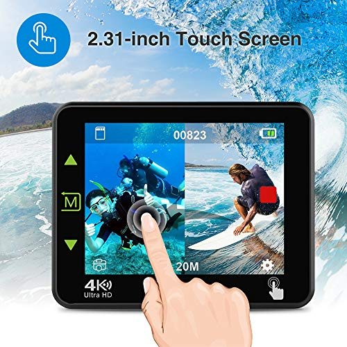 Zoom IMG-3 dbpower n6 action cam hd
