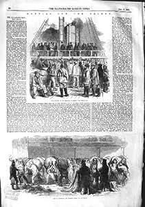 Bateau de Hesperus de Guerre de la Crimée de 1855 de Terrassiers Sacs de Lot