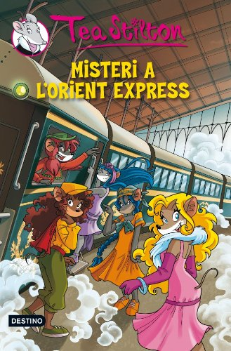 13. Misteri a l'Orient Express (TEA STILTON. TAPA DURA Book 18) (Catalan Edition) por Tea Stilton