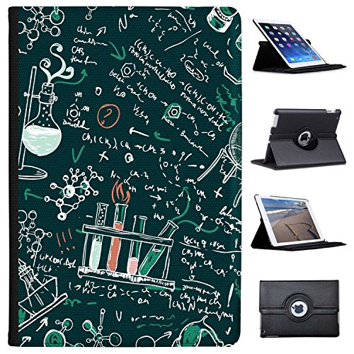 """Fancy A Snuggle Wissenschaftliche Formeln & Kreidezeichnung Case Cover/Folio aus Kunstleder für Das Apple iPad Pro 10.5"""" (2017)"""
