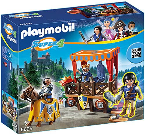 Preisvergleich Produktbild PLAYMOBIL 6695 - Königstribüne mit Alex
