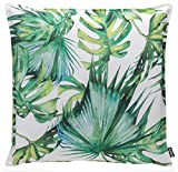H.O.C.K.. Beach Life Outdoor Kissen 50x50cm Palm Garden